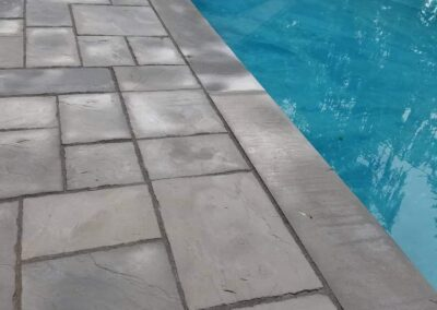 Pool Side Paver Patio