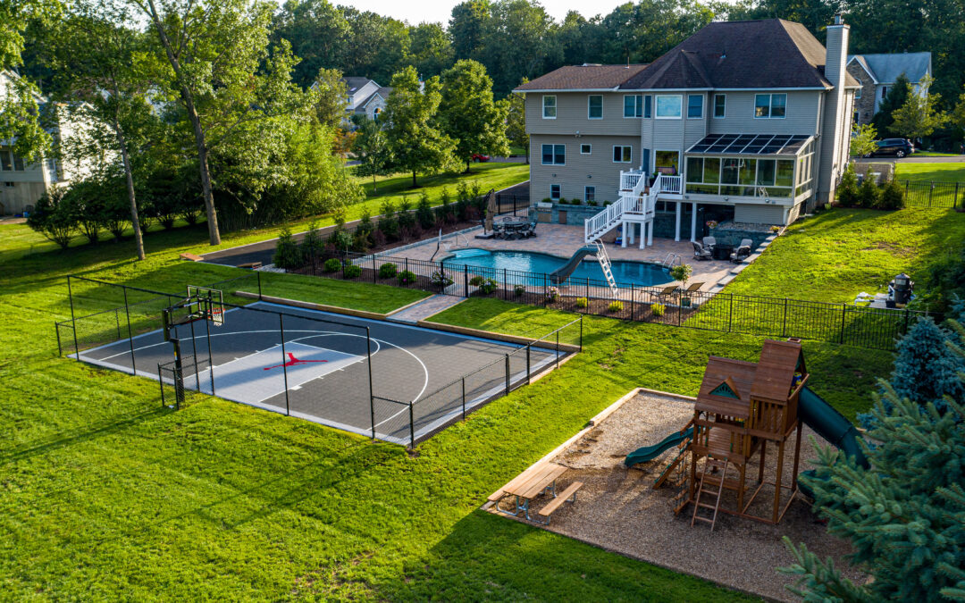 How can a Multi-Sport Court Make Your Staycation Complete?