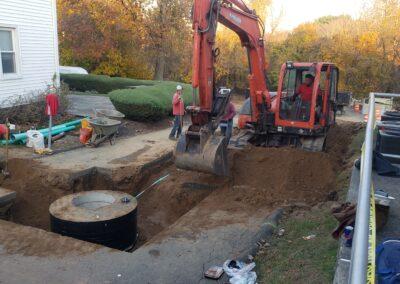 Sewer Installation