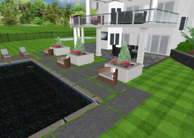 Staycation Landscaping Blueprint
