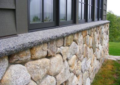 Granite Walls and Sills