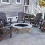 Outdoor Fireplace recently built in Rockland County NY